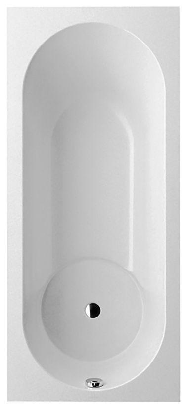 Villeroy & Boch Libra Badewanne Rechteck UBQ180LIB2V-01 H: 465 B: 800 L: 1800 weiß ohne Überlauf Überlauf an 3 Seiten möglich