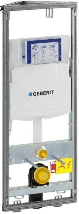 Geberit GIS Element für Wand-WC 114 cm mit Sigma Unterputz-Spülkasten 12 cm Ecklösung 461303005