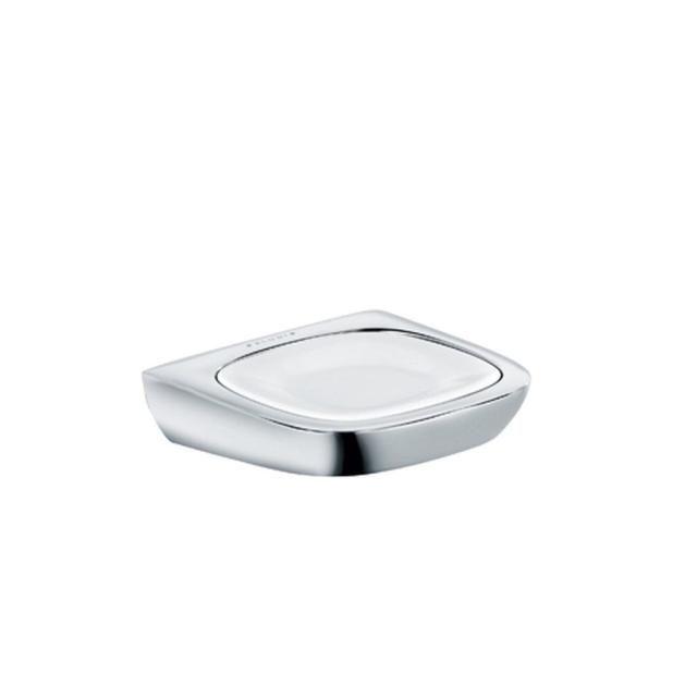 KLUDI AMBA Seifenschale aus Prozellan chrom 5398505