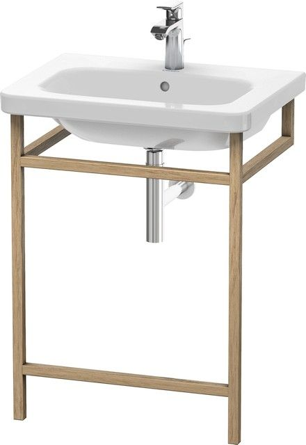 Duravit DuraStyle Möbel-Accessoire Handtuchhalter B:59xH:80,5xT:44 cm europäische eiche massiv DS989107676