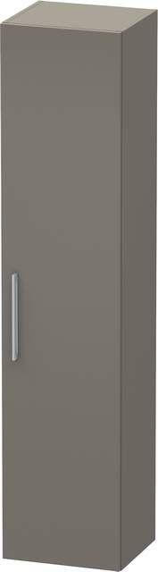 Duravit Vero Hochschrank B:40xH:176xT:36cm 1 Tür Türanschlag rechts flannel grey seidenmatt VE1116R9090