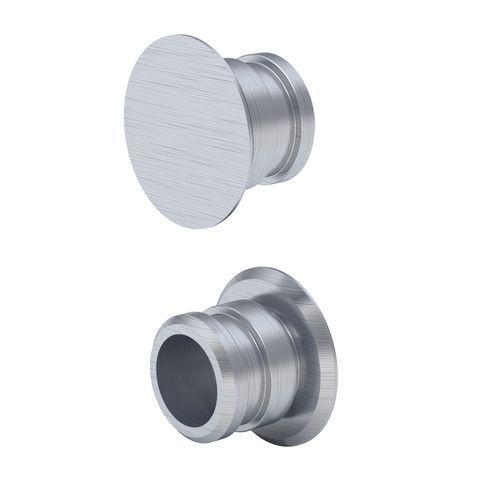 Geberit Fixierbolzen aus gebürstetem Aluminium für Geberit Monolith Seitenverkleidung 131112TA1