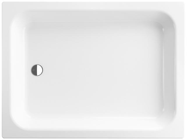 Bette Rechteck-Duschwanne L:120xB:80xT:15cm mit Antirutsch weiß 5850-000AR