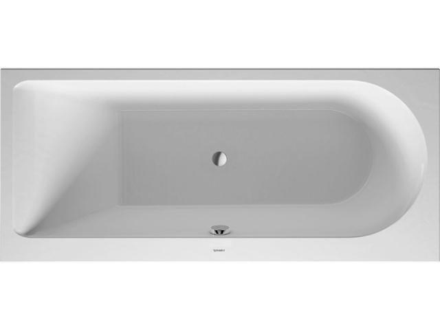 Duravit Darling New Rechteck-Badewanne B:75xL:170cm Einbauversion Rückenschräge links weiß 700242000000000