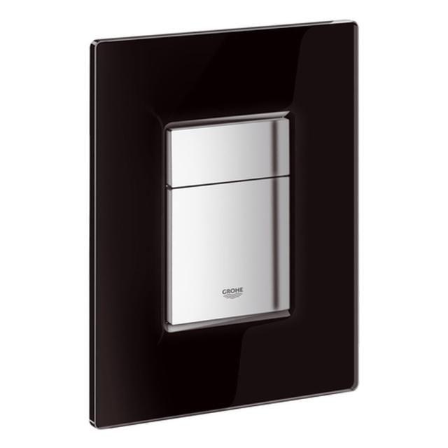 Grohe Skate Cosmopolitan WC-Betätigung mit Glasoberfläche velvet black 38845KS0