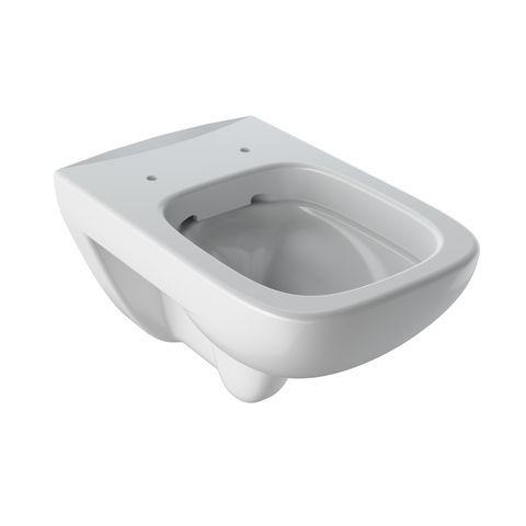 Geberit Keramag Renova Plan Tiefspül-Wand-WC spülrandlos L:54xB:36cm Weiß mit KeraTect 202170600