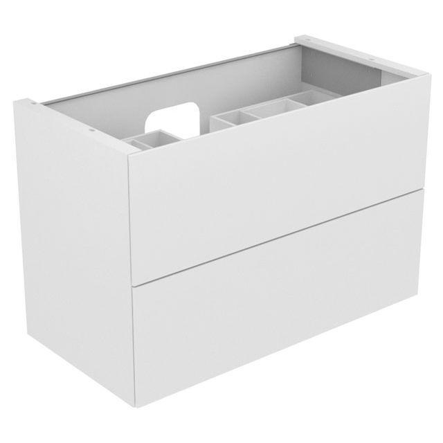 Keuco Edition 11 Waschtischunterbau 2 Frontauszüge eiche tabak 31352850000