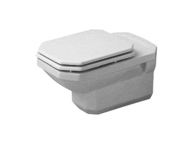 Duravit 1930 Tiefspül-Wand-WC L:57,5xB:35,5cm weiß 0182090000