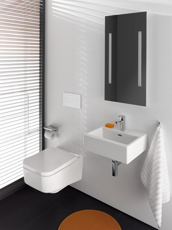 Laufen Pro S Tiefspül-Wand-WC spülrandlos L:0xB:36cm weiß mit CleanCoat LCC H8209624000001