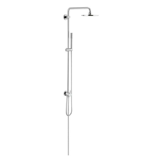 Grohe Rainshower Duschsystem mit Umstellung chrom 27058000
