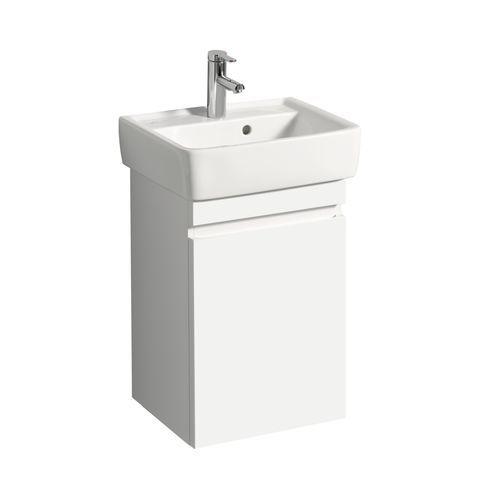 Geberit Keramag Renova Plan Handwaschbecken-Unterschrank mit 1 Tür Türanschlag wählbar B:414xT:345xH:586mm weiß hochglanz 869050000