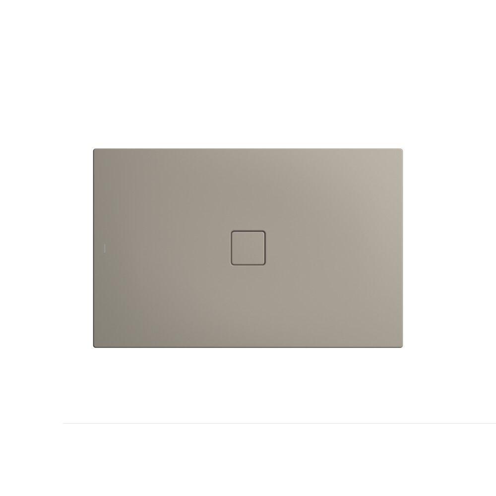 Kaldewei CONOFLAT Rechteck-Duschwanne 795-1 L:90xB:140cm warm grey 50 mit Perl-Effekt 466500012670
