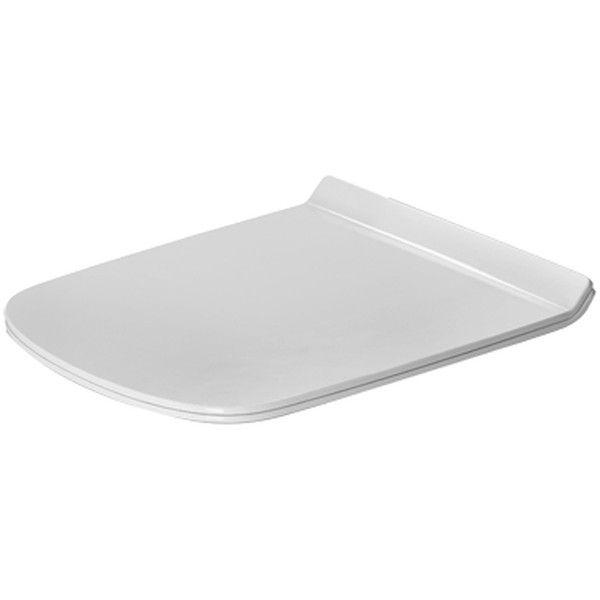Duravit DuraStyle WC-Sitz mit Absenkautomatik weiß 0063790000