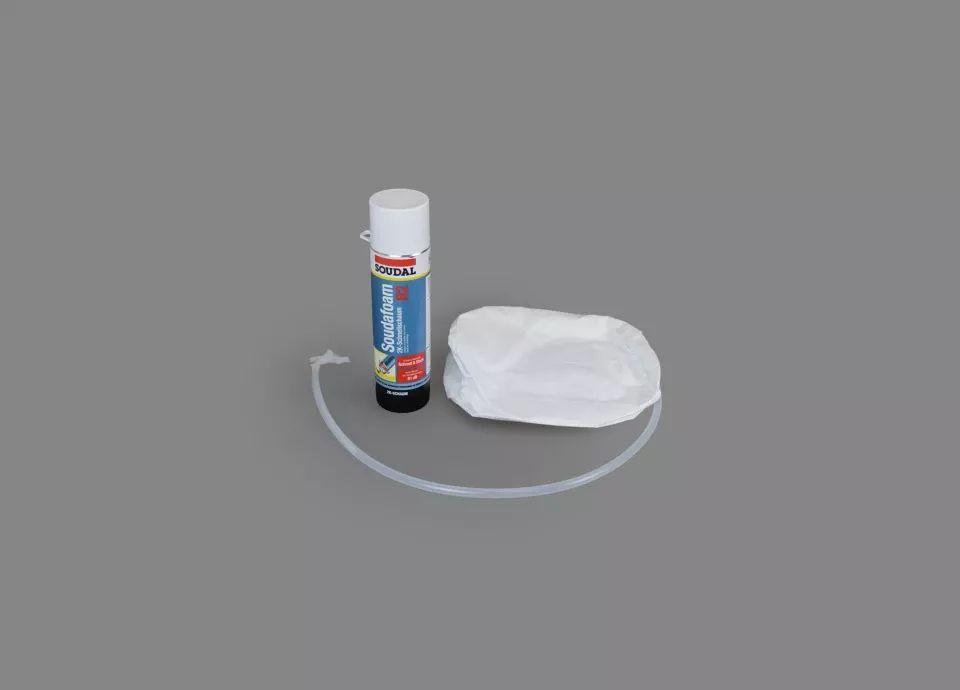 Bette Unterschäumungsset für BetteFloor und Bette Duschwannen superflach B57-0230