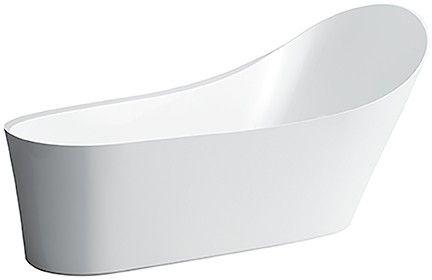 Laufen Palomba Collection freistehende Badewanne L:183,5cm weiß H2458020000001