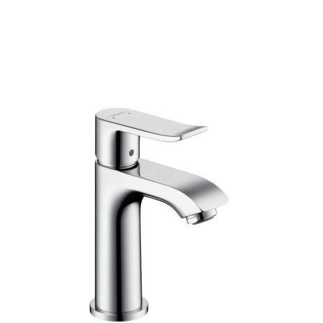 Hansgrohe Metris 31186000 Waschtischmischer 100 für Handwaschbecken ohne Ablaufgarnitur chrom