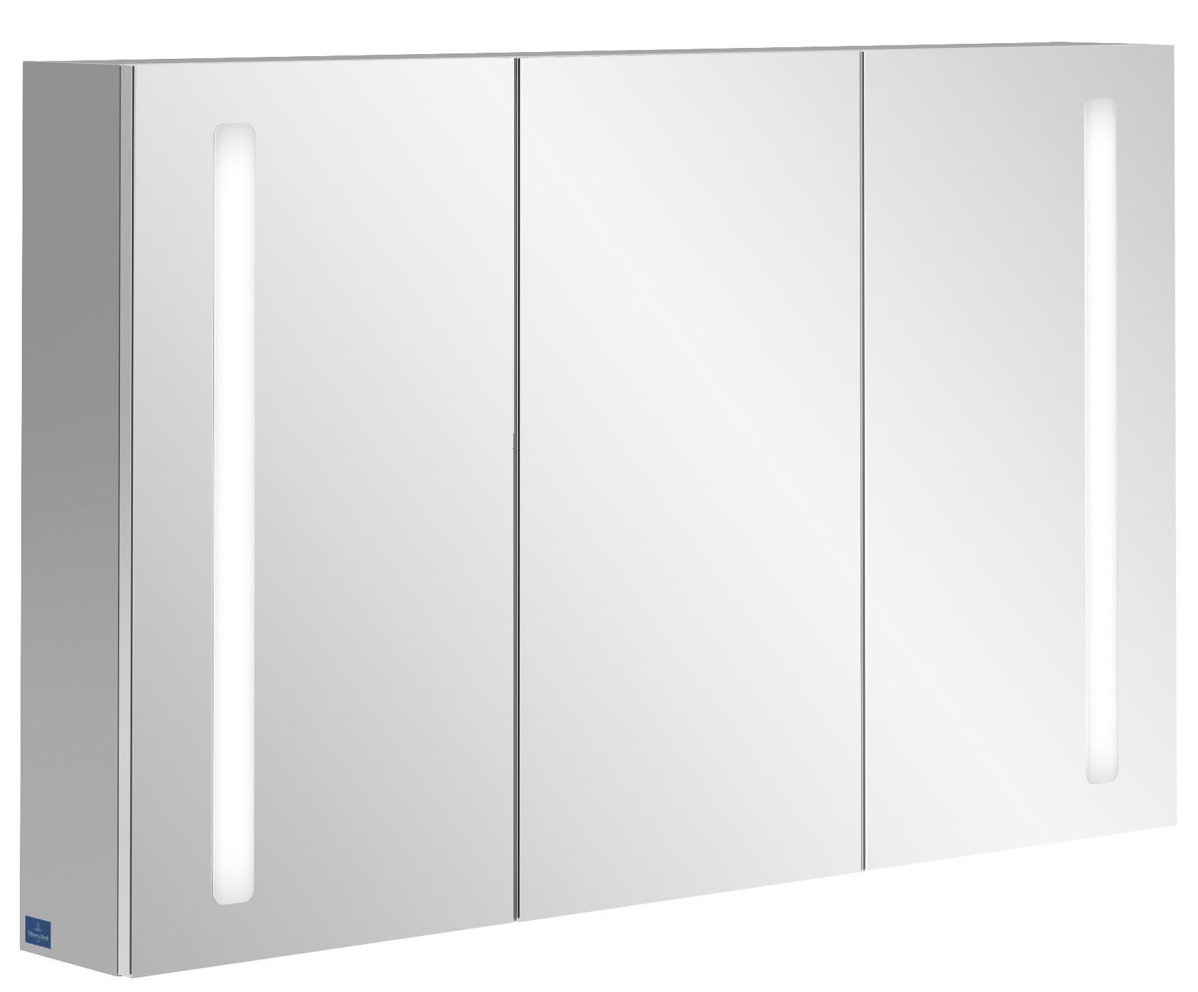 Villeroy & Boch My View 14+ Spiegelschrank mit integrierter LED Beleuchtung B:120xH:75xT:17,3cm A4331200