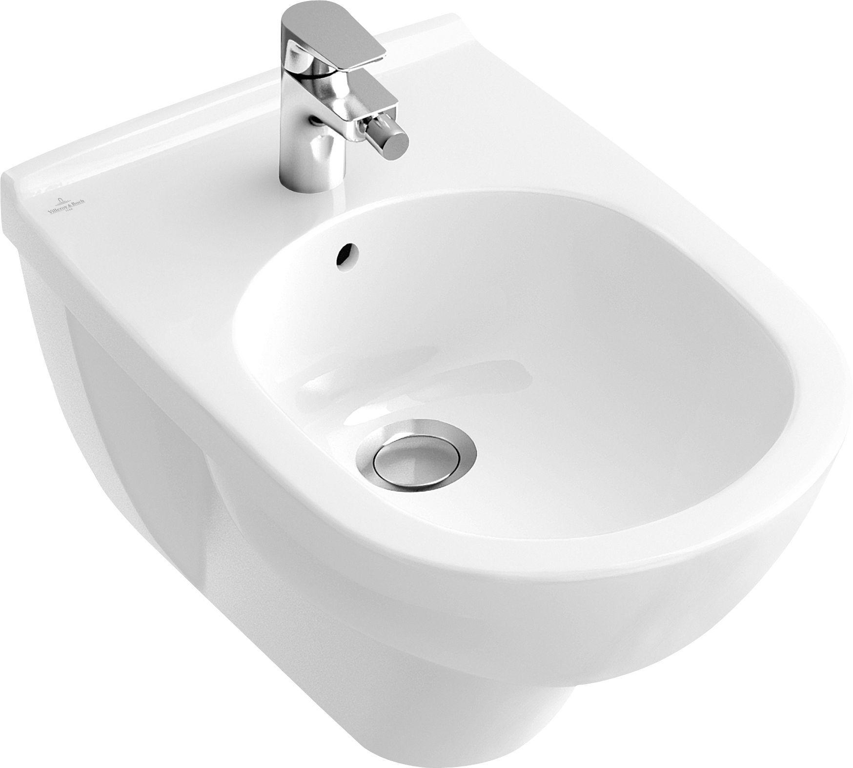 Villeroy & Boch O.novo Bidet weiß mit ceramicplus 546000R1