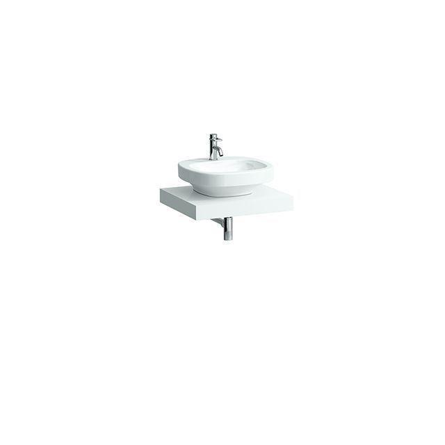 Laufen Case Waschtischplatte Ausschnitt mittig B:59,5xT:52cm weiß H4051110754631
