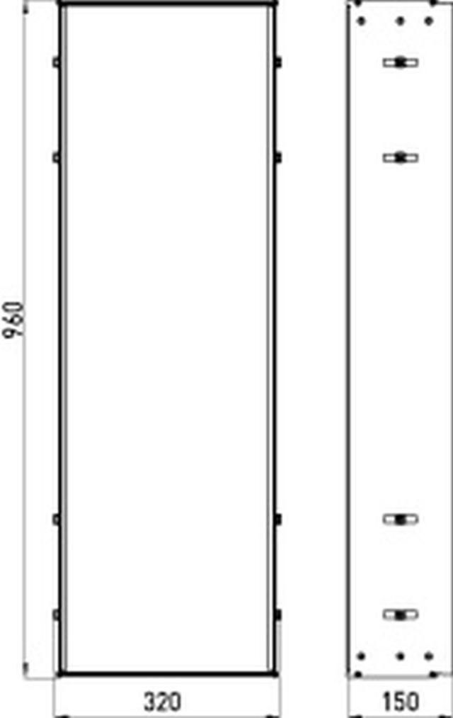 Emco asis Einbaurahmen für Modul Unterputz Modell 977000061