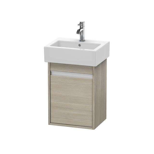 Duravit Ketho Waschtischunterschrank wandhängend für 070445 B:40xH:55xT:32cm 1 Tür Türanschlag rechts pine silver KT6630R3131