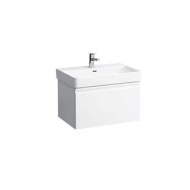 Laufen Pro S Waschtischunterbau 1 Schublade und Innenschublade B:66,5xH:39xT:45cm weiß matt H4834520964631