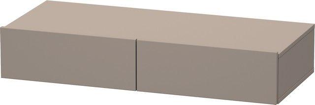 Duravit DuraStyle Schubkastenablage 440x1000x150 2 Schubkästen basalt matt/ basalt matt DS827004343