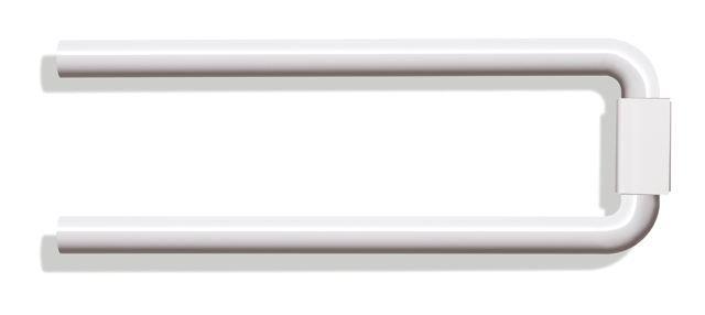 HEWI Handtuchhalter Serie 477 zweiarmig Reinweiß 477.09.100 99