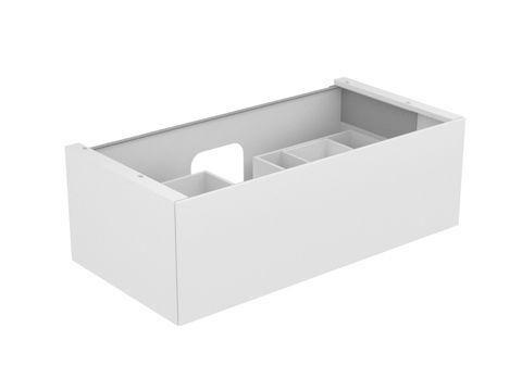 Keuco Edition 11 Waschtischunterbau 1 Frontauszug eiche platin 31351440000