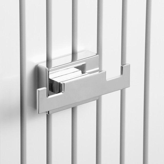 Giese Doppelhaken mit Magnetbefestigung für Heizkörper verchromt 34248-02