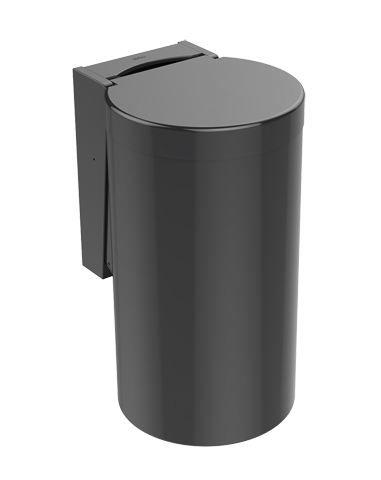 HEWI Abfallbehälter Serie 477 zur Kniebetätigung Anthrazitgrau 477.05.100 92