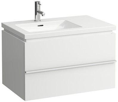 Laufen case Waschtischunterbau 1 Auszug B:74,5xH:45,5xT:47,5cm weiß matt H4014410754631