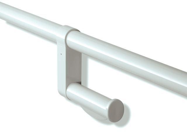 HEWI WC-Papierhalter Serie 801 nachrüstbar Felsgrau 801.50.010 95
