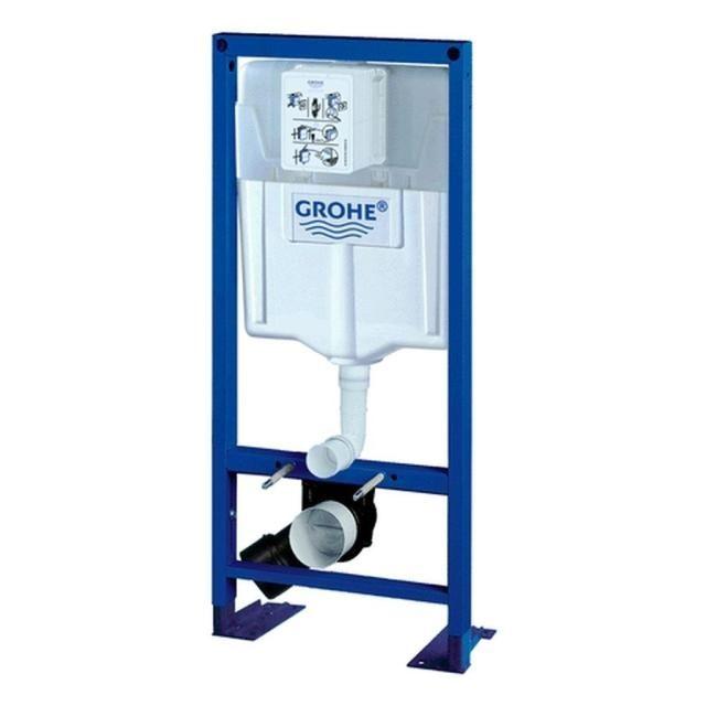 Grohe Rapid SL mit WC-Spülkasten Bauhöhe 113m Spülkasten GD 2 für freistehende Montage 38584001