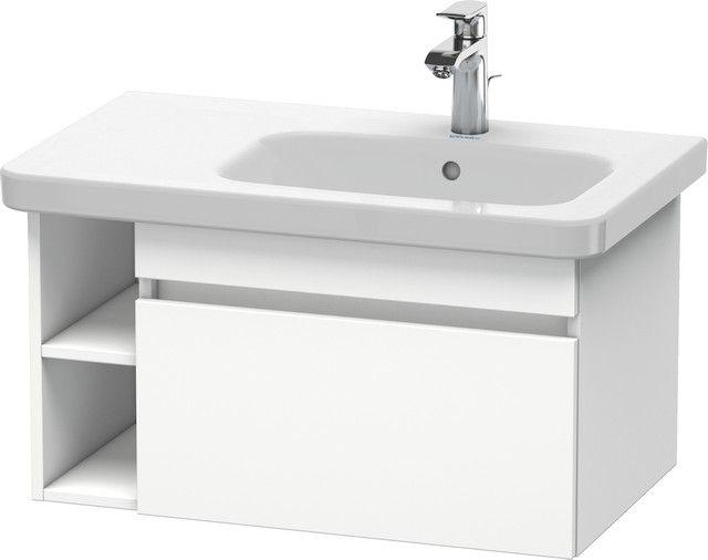 Duravit DuraStyle Waschtischunterbau wandhängend 448x730x398 1 Auszug weiß matt/ weiß matt DS639301818