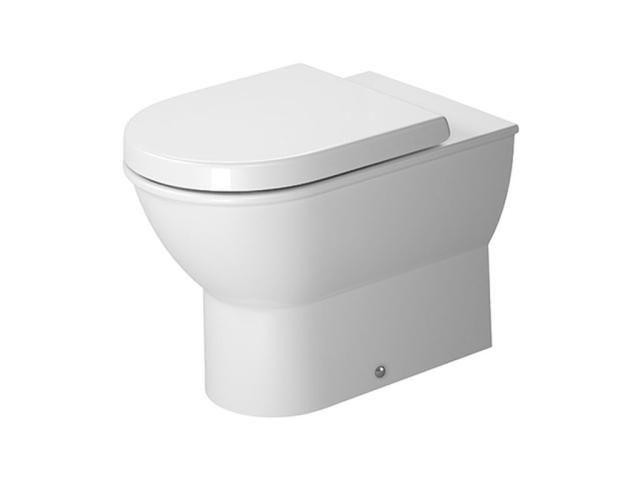 Duravit Darling New Tiefspül-Stand-WC L:57xB:37cm weiß mit Wondergliss 21390900001