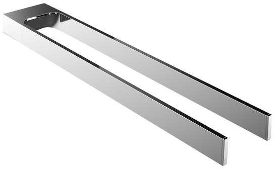 Emco art Handtuchhalter zweiarmig starr 450mm chrom 165000145