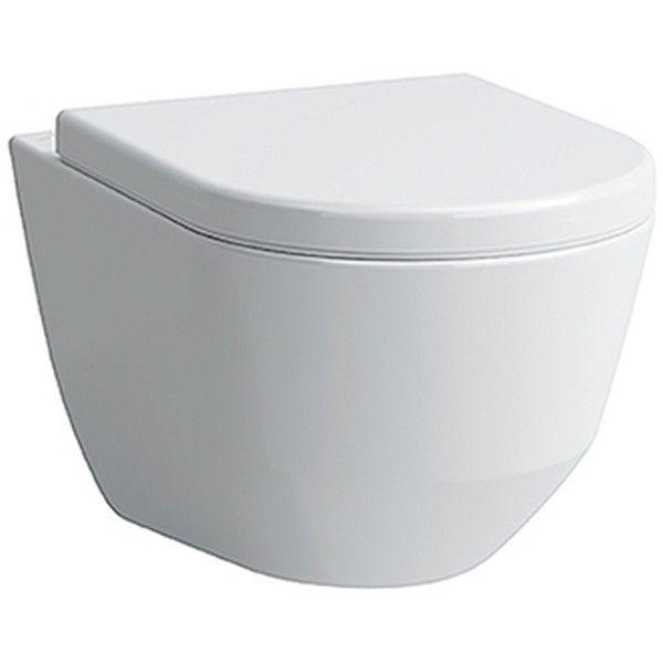Laufen Pro Tiefspül-Wand-WC spülrandlos L:53xB:36cm weiß H8209660000001