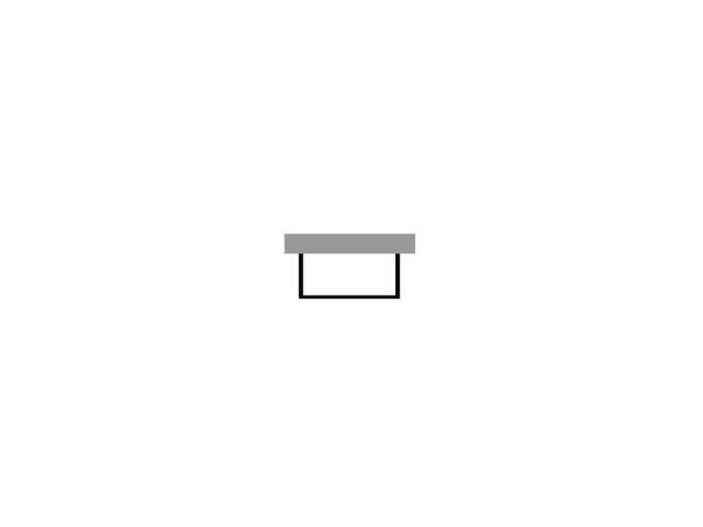 Duravit Starck Wannenverkleidung 1680x740 Vorwandversion für Wanne 700335 weiß acryl ST877708282