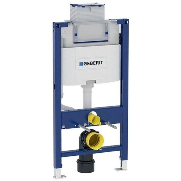 Geberit Duofix Element für Wand-WC 98cm mit Omega Unterputz-Spülkasten 12cm Betätigung vorne oben 111030001