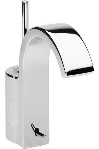 JADO Glance Einhebel-Waschtischarmatur mit Zugknopf-Ablaufgarnitur chrom A5330AA