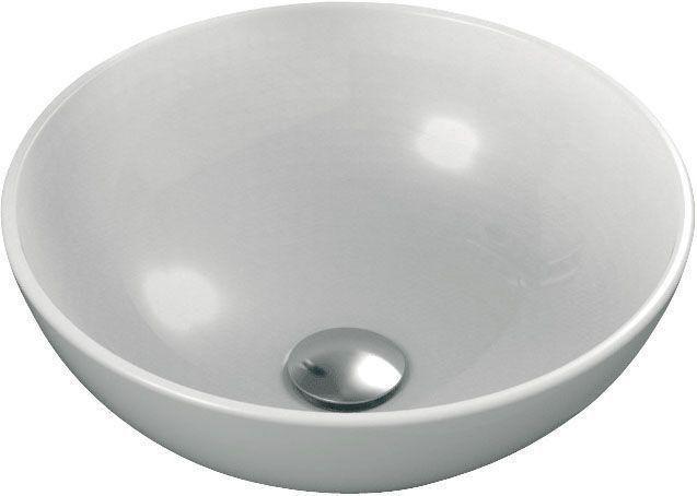 Ideal Standard Strada Schalenwaschtisch rund DM:41xH: 15cm ohne Hahnloch ohne Überlauf weiß mit Ideal Plus K0795MA