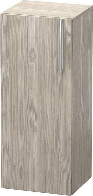 Duravit Vero Halbhochschrank B:40xH:96xT:36cm 1 Tür Türanschlag links pine silver VE1106L3131