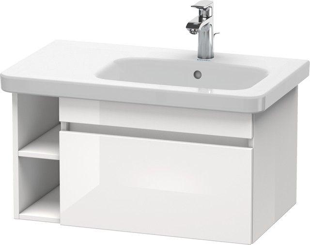 Duravit DuraStyle Waschtischunterbau wandhängend 448x730x398 1 Auszug europäische eiche/ weiß matt DS639305218