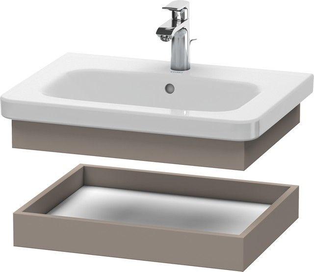 Duravit DuraStyle Ablageboard B:58xH:8,4xT:44,8cm basalt matt DS618004343