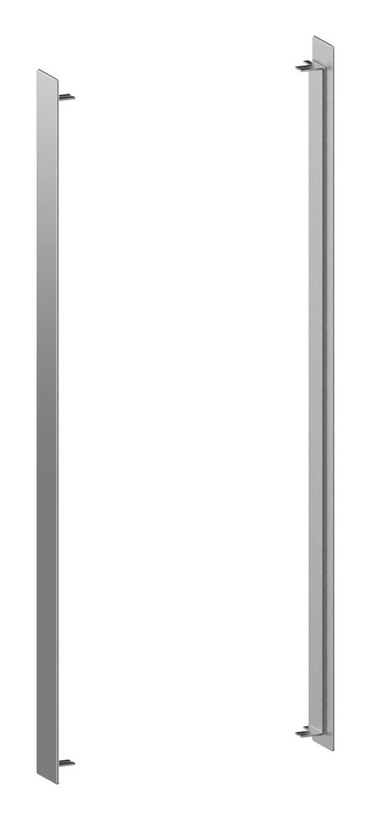 Keuco Lumos Seitenelemente rechts und links, 14394 für Halbeinbau, H:73,5,B:5,T:0,3cm, verspiegelt, 14394000001