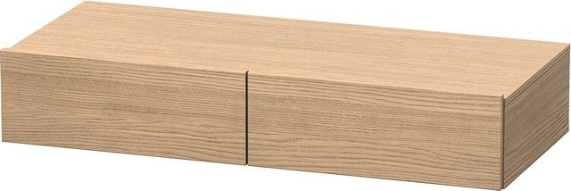 Duravit DuraStyle Schubkastenablage 440x1000x150 2 Schubkästen europäische eiche/ europäische eiche DS827005252