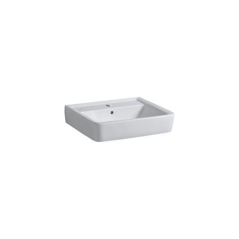 Geberit Keramag Renova Plan Waschtisch B:60xT:48cm 1 Hahnloch mit Überlauf weiß mit KeraTect 222260600