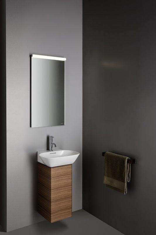 Laufen INO Handwaschbecken ohne Hahnloch mit Überlauf B:45xT:41cm weiß mit CleanCoat LCC H8153014001091