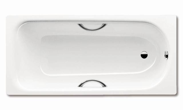 Kaldewei Advantage SANIFORM PLUS STAR 344 Badewanne Rechteck 140x75x48cm alpinweiß Antislip 134430000001